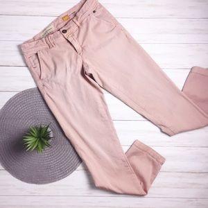 {Anthro} Pilcro HYPHEN Pink Chinos - 26